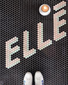🎈Custom Mosaics tiles on the floor # mosaicfloor Mosaic Tiles, Mosaic Floors, Hk Restaurant, Show Bar, English Paper Piecing, Case Study, Tile Floor, Signages, Flats
