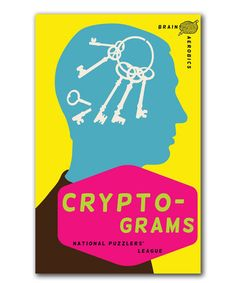 Another great find on #zulily! Brain Aerobics Cryptograms Book #zulilyfinds