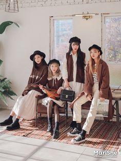 #korean, #fashion, #marishe Winter similar look