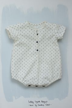 Lullaby Layette Bodysuit pattern by Oliver and S