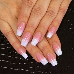 This Pink and White Fade is one of my absolute FAVORITE nail trends right now! I used Tammy Taylor Cover It Up Dark Pink Powder, Hope Prizma Powder from the Peace, Hope and Love Collection, and A+ Plus Coat! Tutorial on how to do these nails: http://youtu.be/KShbSRtWC9U