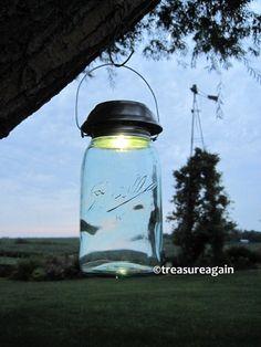 Solar Mason Jar Lights 4x Brighter Solar Lids, the ORIGINAL Mason Jar Solar Lid by treasureagain