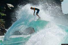 Wave Skimboarding
