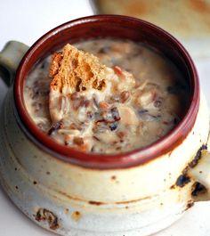 Chicken Bacon & Wild Rice Soup