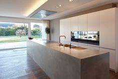 p/haus-ku-kuche-von-lioba-schneider-modern - The world's most private search engine Modern Kitchen Design, Modern House Design, Interior Design Kitchen, Modern Interior Design, Open Plan Kitchen, New Kitchen, Kitchen Decor, Awesome Kitchen, Kitchen Ideas