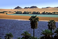 Katam Lake, Ounianga Kébir:Lakes of Ounianga are a series of lakes in the Sahara desert, in North-Eastern Chad, occupying a basin in the mountains of West Tibesti and Ennedi