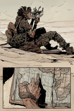 by Robert Sammelin Character Illustration, Illustration Art, Comic Layout, Graphic Novel Art, Bd Comics, Cyberpunk Art, Comic Artist, Animation, Comic Books Art
