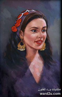 باقة من اعمال الفنان المصرى أحمد بيومى