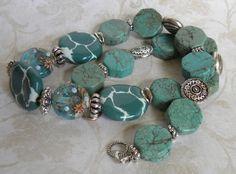 Lampwork Kazuri African Beads Handmade by bdzzledbeadedjewelry Beaded Necklace, Beaded Bracelets, Handmade Beaded Jewelry, African Beads, Lampwork Beads, Artisan Jewelry, Turquoise Bracelet, Jewelry Ideas