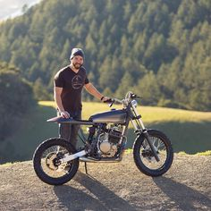 """""""Some people just get it. 1994 Honda XR600R Street Tracker built by Daniel Lucero on his backyard patio. I would be very interested to see what Dan could…"""""""