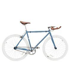 Zycle Fix ZF-MSBL-59 Misty Blue Fixed Gear Bike, 59cm/One Size Frame - http://www.bicyclestoredirect.com/zycle-fix-zf-msbl-59-misty-blue-fixed-gear-bike-59cmone-size-frame/