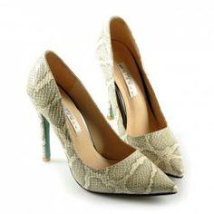 $27.52 Elegant Women's Pumps With Snake Pattern and Stiletto Heel Design Snake Patterns, Designer Heels, Sammy Dress, Elegant Woman, Women's Pumps, Stiletto Heels, Peep Toe, Shoes, Fashion