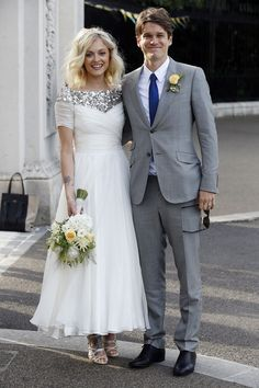 Fearne Cotton marries Jesse Wood in a stunning Emilio Pucci designer Peter Dundas dress, so different.