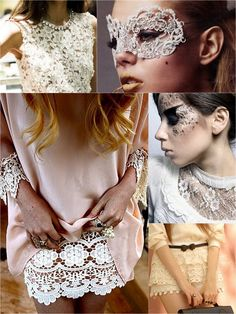 White #lace.