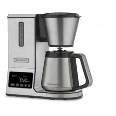 Cuisinart Precision Stainless Steel Residential Pour Over Coffee Maker at Lowe's. Kick premium coffeemaking up with the Cuisinarty Pour Over Coffee Brewer. Enjoy the superior coffee taste produced by manual brewers without the work. Thermal Coffee Maker, Pour Over Coffee Maker, Coffee And Espresso Maker, Coffee Cups, Charcoal Water Filter, Coffee Tasting, Great Coffee, Coffee Machine, Coffee Beans