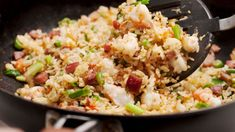 Fun fried rice