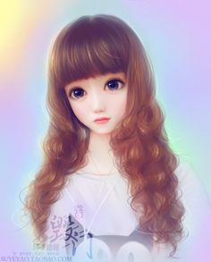 Beautiful paintings and illustrations Manga Girl Drawing, Cute Manga Girl, Chica Cool, Anime Art Fantasy, Cute Girl Wallpaper, Dragonfly Art, Postcard Art, Realistic Paintings, Cute Cartoon Wallpapers