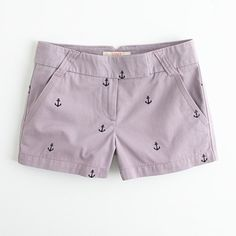 Anchor shorts..seems to be my obsession since this is the second pair that i've bought..