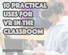 By Bob Hand For many teachers, the idea of implementing virtual reality (VR) into the curriculum seems like a far-fetched notion. The technology seems too expensive, too primitive, or too impractical to fit into a typical class period. Computer Lab Lessons, Augmented Virtual Reality, Stem School, Esl Lessons, Project Based Learning, Elementary Teacher, Homeschool Curriculum, Educational Technology, Lesson Plans