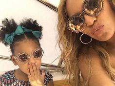 #Beyoncè and #BlueIvy Carter Mommy&Me