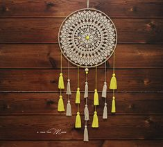 Dreamcatcher Nursery decoration amulet wall furniture for Dream Catcher Nursery, Wedding List, Boho Chic, Shabby Chic, White Home Decor, Lace Doilies, Crochet Gifts, Wooden Beads, Wall Design