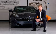 We had a chance to sit down with legendary automotive designer Henrik Fisker to talk about Fisker Automotive and the sexy new green car he's designing. Henrik Fisker, Mobile Beauty, Ralph Lauren, Super Yachts, Car Brands, Car And Driver, Aston Martin, Sport Cars, First World