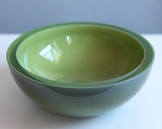 Oliva Bowl Hand Blown Glass Bowl by corporanglass on Etsy, $800.00