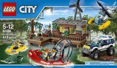 Amazon.com: LEGO City Police Crooks' Hideout: Toys & Games