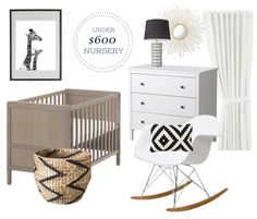 Under $600.00 Gender Neutral Nursery Design! - danielle oakey interiors