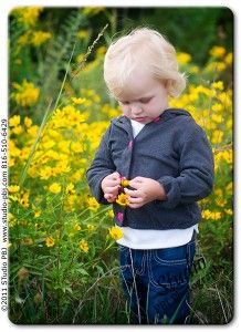 cute little guy... love the yellow flowers! #photography