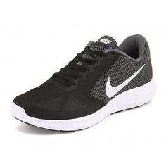 Nike Revolution 3 Womens 819303-001 Black Grey White Running Shoes Wmns Size 6.5