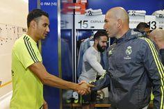 Keylor, uno de los intocables de Zidane