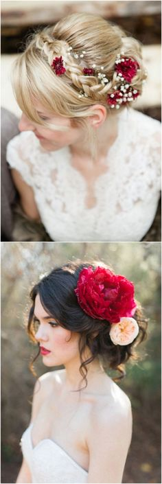Dazzling Fall Wedding Hairstyle Inspirations To Look More Beautiful 051