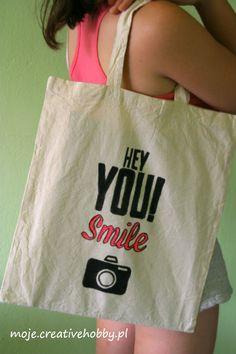 Bądź eko i ogranicz zużycie foliowych torebek. Twoja ekologiczna torba zrobi furorę na mieście, a Ty zadbasz o planetę :)