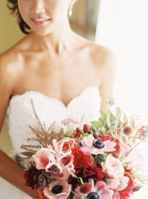 Pink Clos LaChance Winery Wedding   Photos - Style Me Pretty