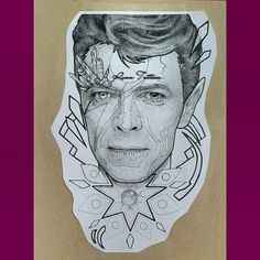 Image result for david bowie tattoo