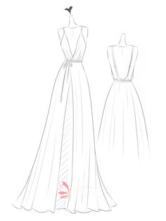 Get inspired by our wonderful sketch works of wedding dress, evening prom gowns, cocktail dress, etc. Dress Illustration, Fashion Illustration Dresses, Fashion Drawing Dresses, Fashion Dresses, Gown Drawing, Dress Sketches, Fashion Design Drawings, Dress Sewing Patterns, Costume Design