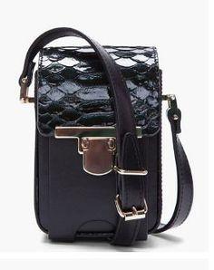 Lanvin python skin camera bag - cute shape and nice lock