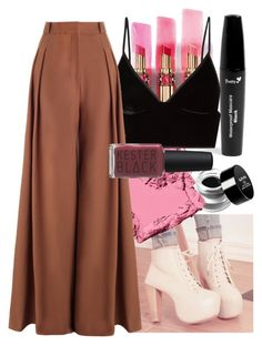 Autumn Day Out 🍂 by lexi-lovegood on Polyvore featuring polyvore, fashion, style, T By Alexander Wang, Zimmermann, Bobbi Brown Cosmetics, NYX, Kester Black, Boohoo and clothing