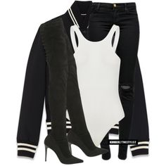 Untitled #2392 by whokd on Polyvore featuring moda, Yves Saint Laurent, J Brand, Strategia, women's clothing, women's fashion, women, female, woman and misses