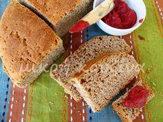 μικρή κουζίνα: Ψωμί με προζύμι και αλεύρι ζέας Banana Bread, Desserts, Recipes, Food, Deserts, Dessert, Rezepte, Meals, Ripped Recipes