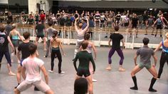 royal ballet daily class