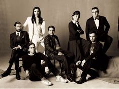 Vogue: The Magnificent Seven The Magnificent Seven, Nicolas Ghesquiere, Steven Meisel, Miuccia Prada, Fashion Forever, Sartorialist, Dapper Men, Team Photos, Love Pictures