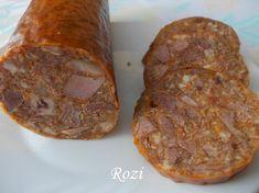 Rozi erdélyi,székely konyhája: Disznófő sajt