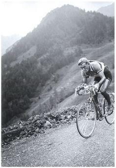 Tour de France 1950. 02-08-1950, 18^Tappa. Gap - Briançon. Col de Vars. Louison Bobet (1925-1980),