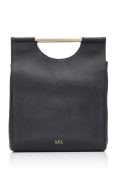 LZL Structured Tote Bag Calf Leather, Shoulder Strap, Pouches, Fashion Bags,  Tote 361592d0ffb6