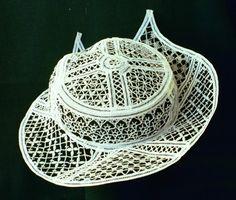 Radmila Zuman - Wearable Art - Bobbin Lace Jewelry & Accessories - Hats