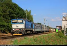 RailPictures.Net Photo: 750.708 CD - Ceske Drahy CKD 750 at Hostivice, Czech Republic by Michal Pecanka