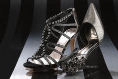 Women's Fashion: Gold Rush (Vince Camuto's sandal and Nina's studded pump.)