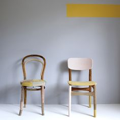 two other chairs via allthemountains.blogspot.com